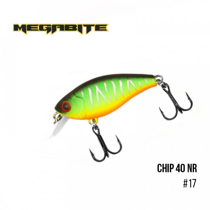 Воблер Megabite Chip 40 F MR 40mm 3.75g до 1m 17