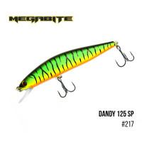 Воблер Megabite Dandy 120mm 28.2g до 1.2m 217