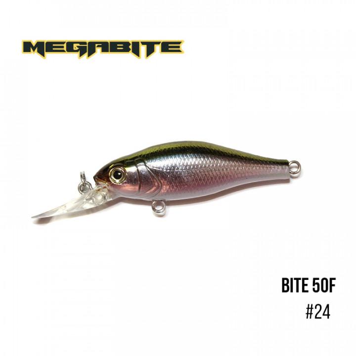 Воблер Megabite Bite 50 F 50mm 4.3g 1.5m 24
