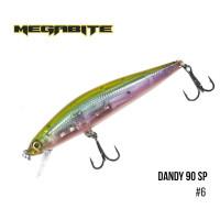 Воблер Megabite Dandy 90mm 11.4g до 1m 6