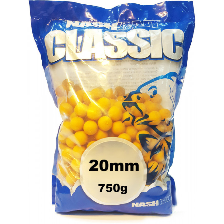 Бойлы CLASSIC BOILIES Nash Baits & Tackle Strawberry 20 mm