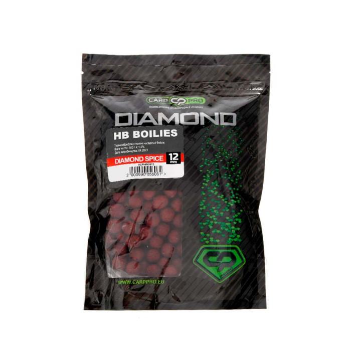 Бойлы насадочные Carp Pro Diamond HB Boilies Spice 12mm