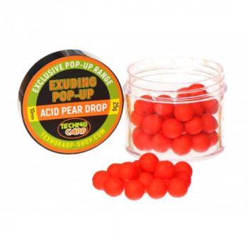 Бойлы Технокарп Pop-Up Exuding 25g Acid Pear Drop