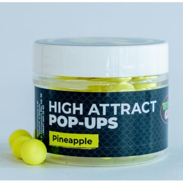 Бойлы Технокарп Pop-Up 10mm 25g Pineapple