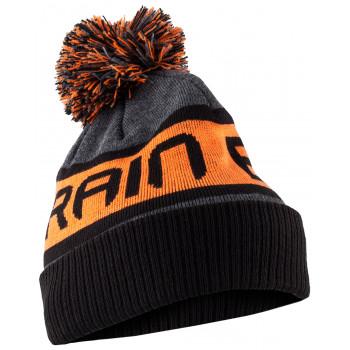 Шапка Brain Black/Grey/Orange ц:оранжевый
