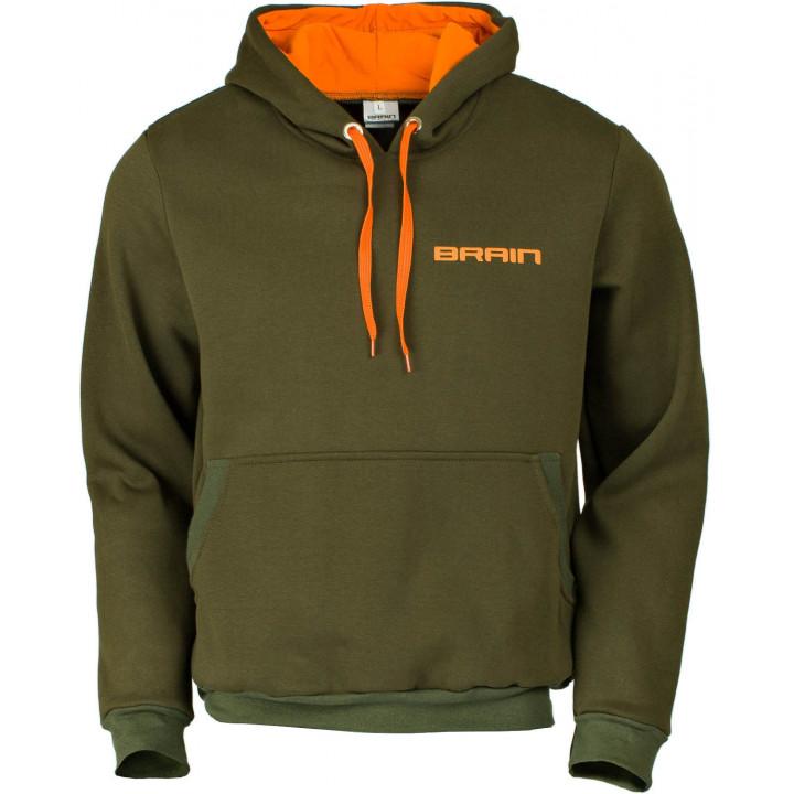 Кофта Brain Carp XXL ц:зеленый/оранжевый