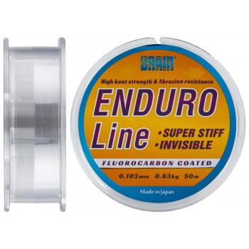 Леска Brain Enduro 50 m 0,102 mm #0.4, 0.83 kg, 1.8 lb, ц.: smoke