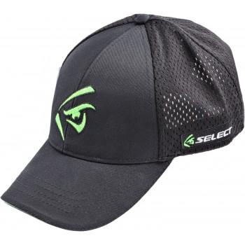 Кепка Select зеленое лого ц:black
