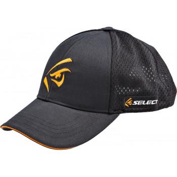 Кепка Select оранжевое лого ц:black