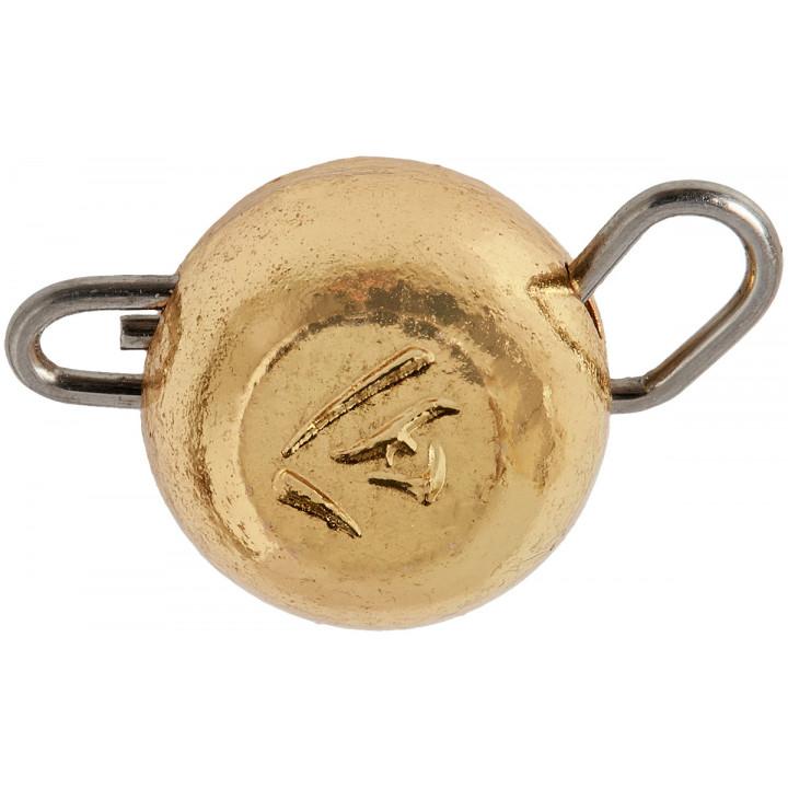 Груз-головка Select вольфрамовая 2.0g ц:золото