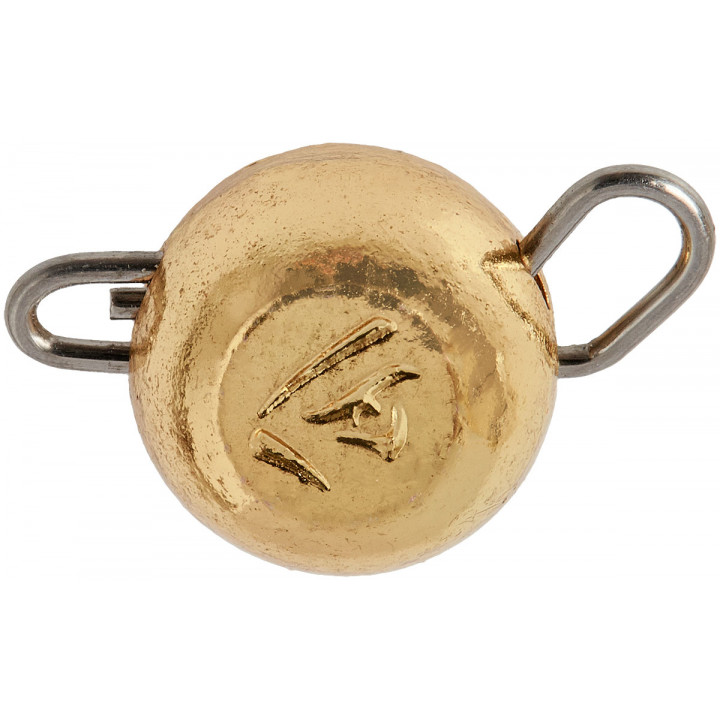 Груз-головка Select вольфрамовая 6.0g ц:золото