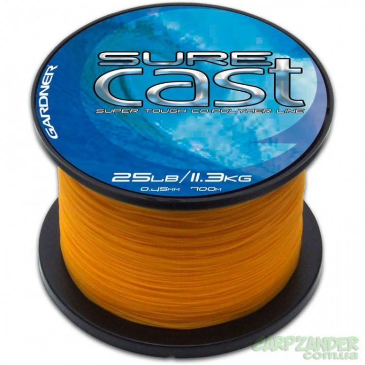 Gardner Sure Cast Solid Yellow 0.30mm 1320m