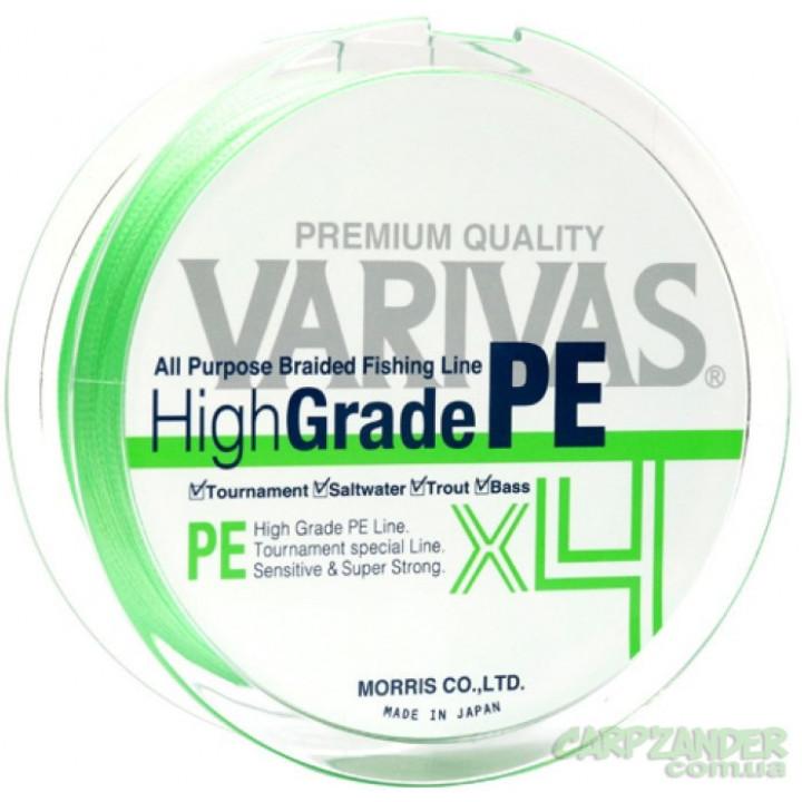 Varivas High Grade PE X4 New Green 150m #1.2