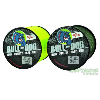 Леска Carp Zoom Bull-Dog Fluo Carp Line 0.28mm 1000m