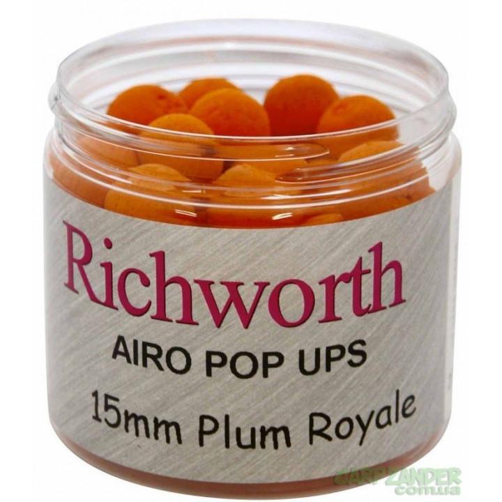 Бойлы плавающие Richworth Airo Pop-Ups 15mm Plum Royale New