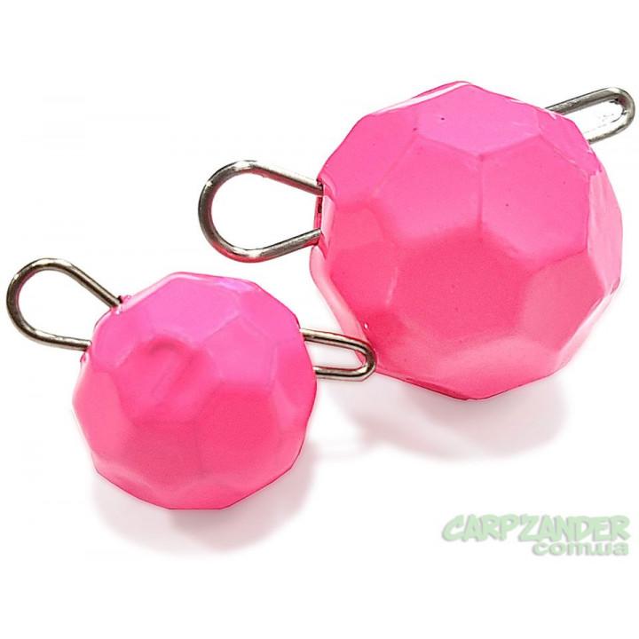 "Груз Днепр-Свинец ""Fishball"" Fluo Pink 12g"