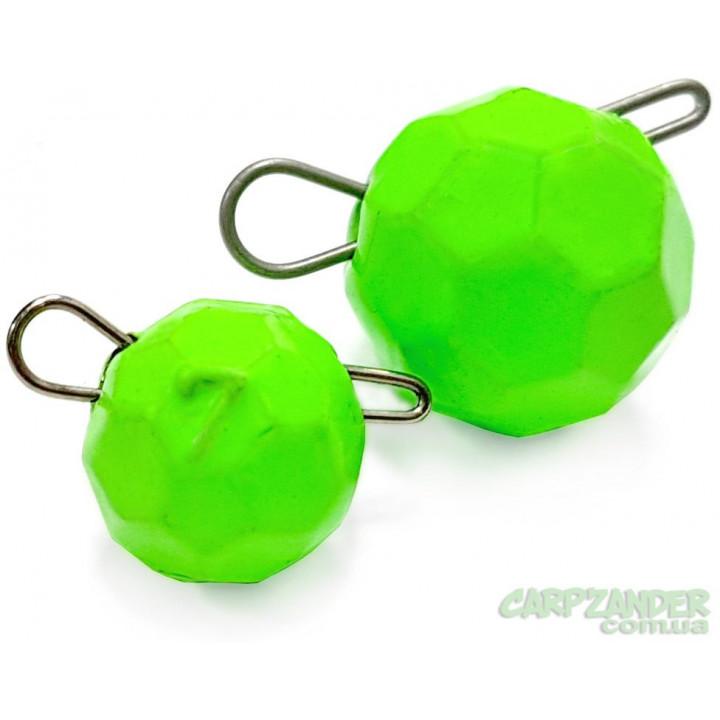 """Груз Днепр-Свинец """"Fishball"""" Fluo Green  8g"""