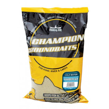 Прикормка Champion Fishing ROI Cold Water 1kg