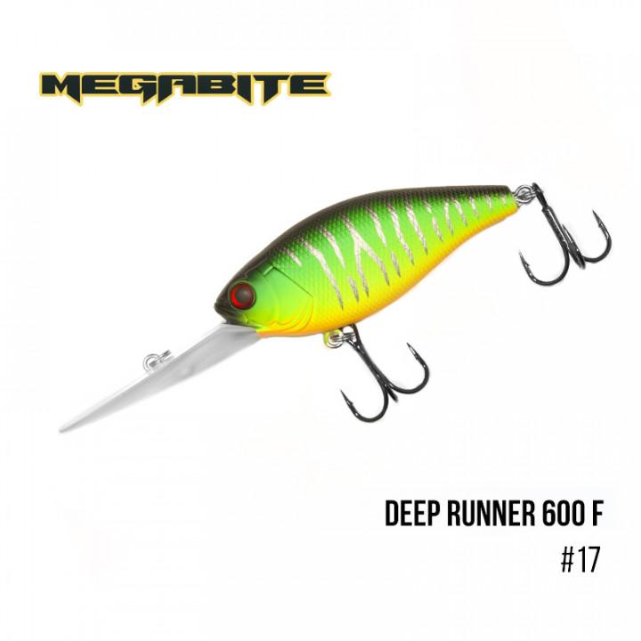 Воблер Megabite Deep Runner 80mm 26.7g до 6m 17