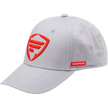 Кепка Favorite Gray Red F Logo 58