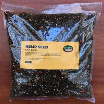 Готовая конопля + перец + чеснок Технокарп Hemp Seed + Chili, Garlic