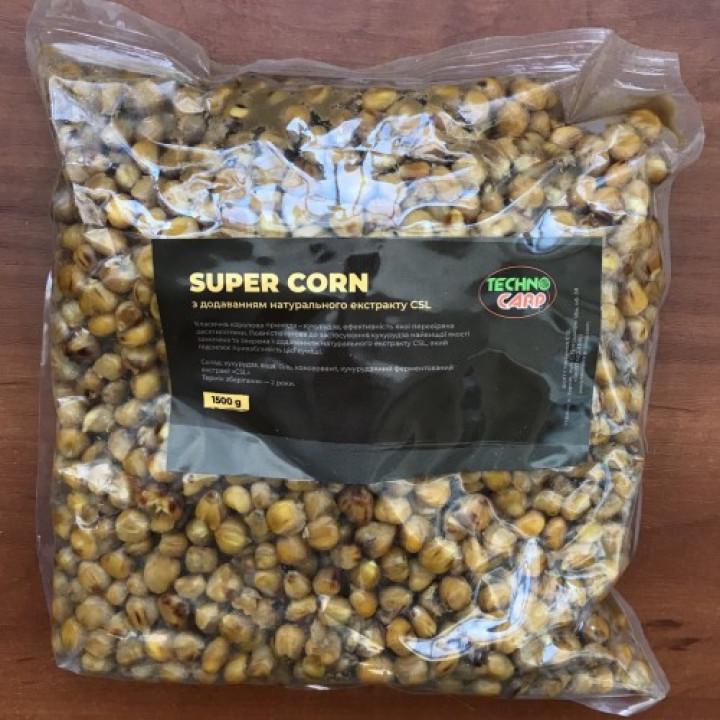 Кукуруза готовая Технокарп Super Corn + CSL 1.5kg