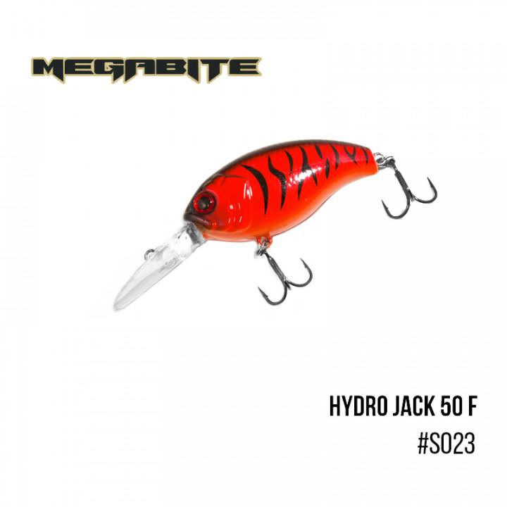 Воблер Megabite Hydro Jack 50 F 50mm 9.01g до 3m S023