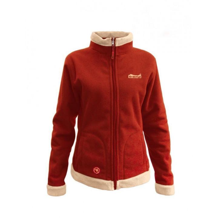 Женская куртка Tramp Бия Бежево-алый S