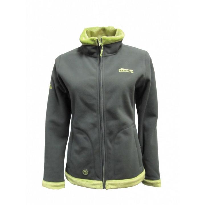 Женская куртка Tramp Бия Серо-зелёный S