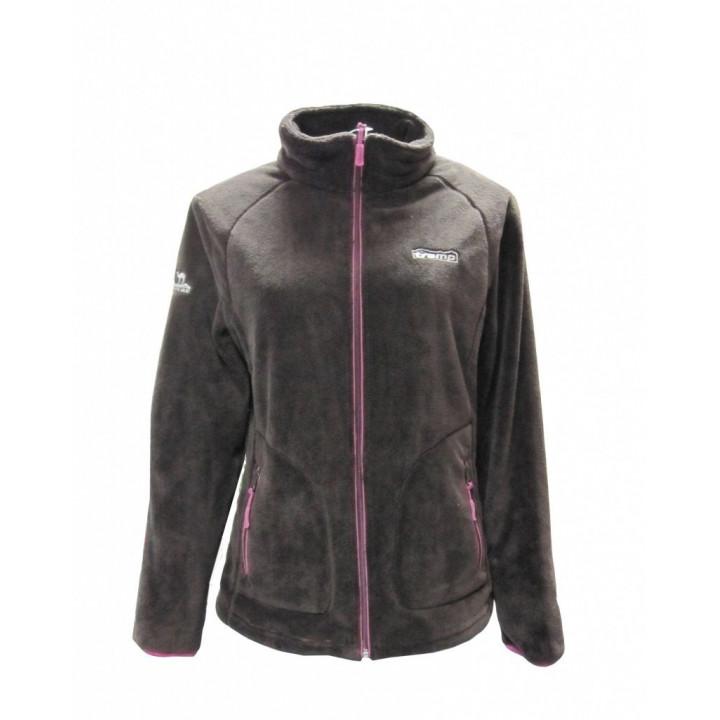 Женская куртка Tramp Мульта Шоколад/Розовый L