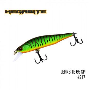 Воблер Megabite  Jerkbite 65 SP 65mm 5.9g до 1m 217