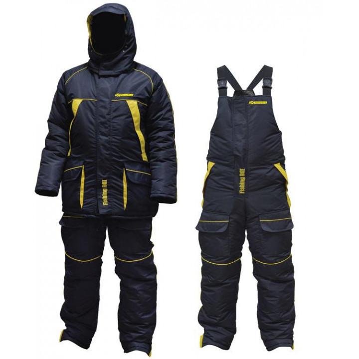 Костюм зимний Fishing ROI Thermal Pro 2 Сине-жёлтый XL