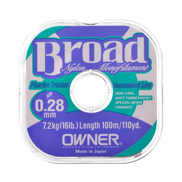 Леска Owner Broad 25m 0.20mm 25m