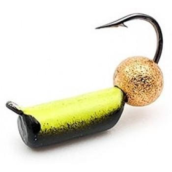 Мормышка вольфрамовая 381 Столбик 2 флуоросцент звездная пыль 0.5g