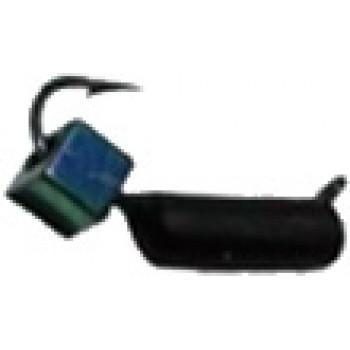 Мормышка вольфрам PM Столбик с кубом Хамелеон 0.8g 2.5 чёрный