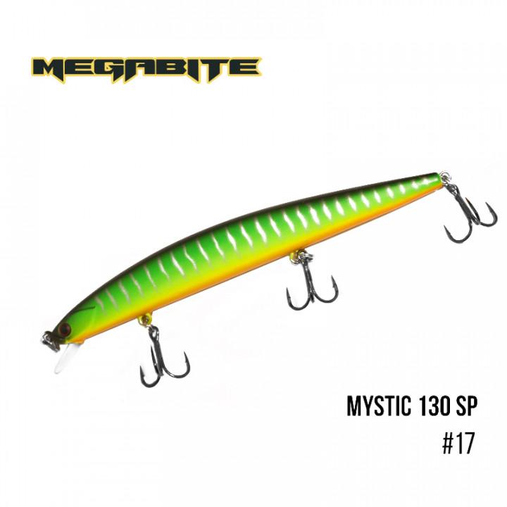 Воблер Megabite Mystic 130mm 18.4g до 0.5m 17