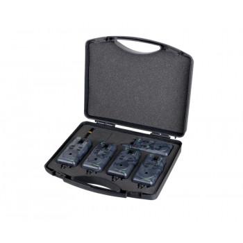 Набор электронных сигнализаторов Carp Pro Flapper ST 4+1 Camo С возможностью подключения свингера