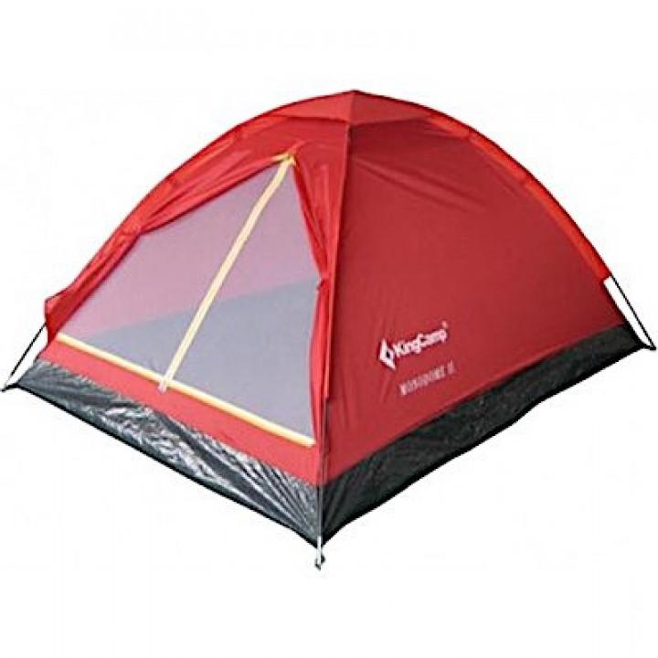 Палатка KingCamp Monodome 2 red