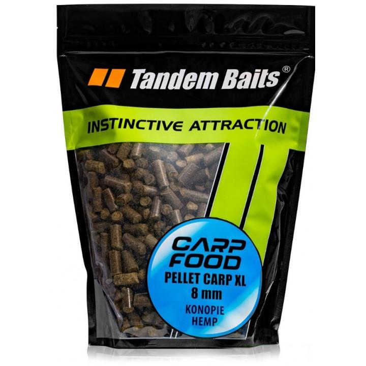 Пелетс Tandem Baits Carp XL Natural Pellets 8mm 1kg Tiger Nut