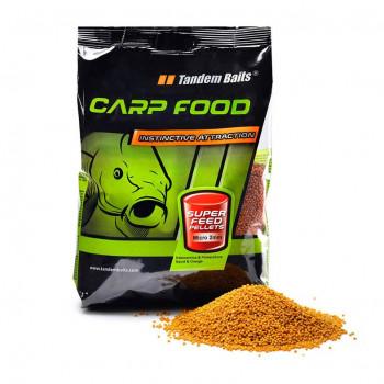 Пеллетс Tandem Baits Super Feed Micro Pellet 2mm 1kg Chili Robin Red