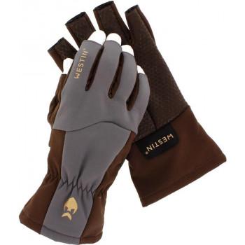 Перчатки Westin W4 QuickGrip Half-Finger Glove Chestnut Grey M