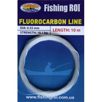 Поводковый материал Fishing ROI Fluorocarbon line