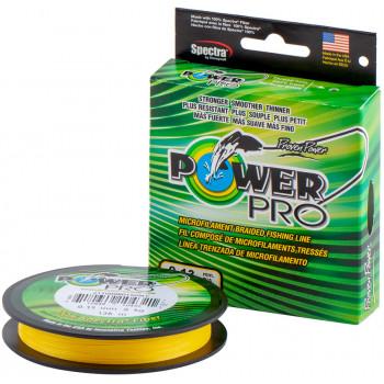 Шнур Power Pro 135m Hi-Vis Yellow 0.06mm 3kg/6.5lb