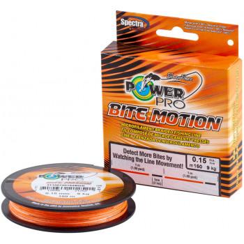 Шнур Power Pro Bite Motion 150m Orange/Black 0.06mm 3kg/6.5lb
