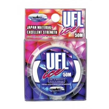 Леска зимняя Fishing ROI UFL ICE Transparent Color 0.17mm 50m