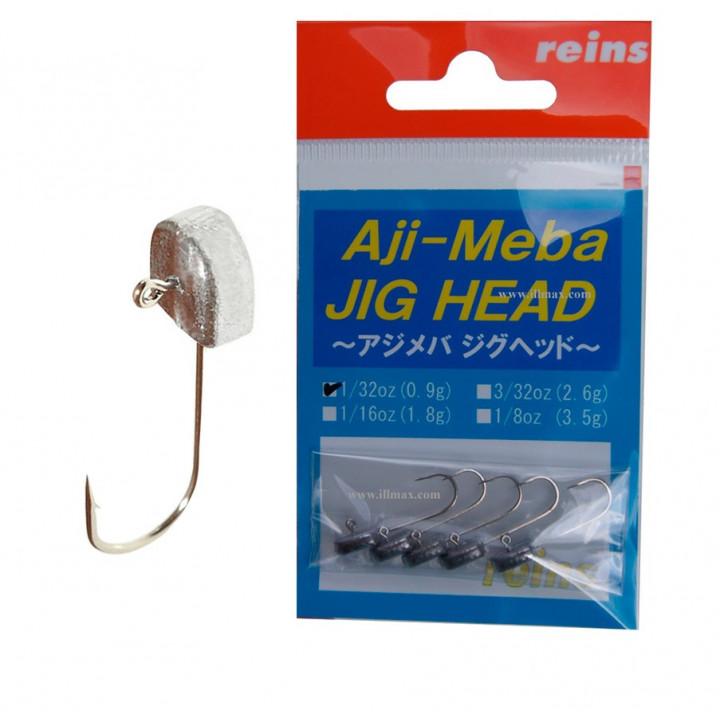 REINS Джиг-головка AJI-MEBA (5шт) 1.8