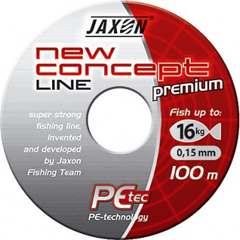Плетёнка Jaxon New Concept Line Dark Gray 100m, 250m