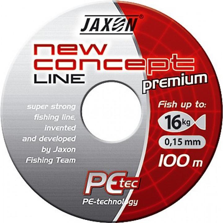Плетёнка Jaxon New Concept Line Dark Gray 100m 0.20mm 24kg