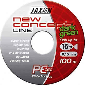 Плетёнка Jaxon New Concept Line Dark Green 100m