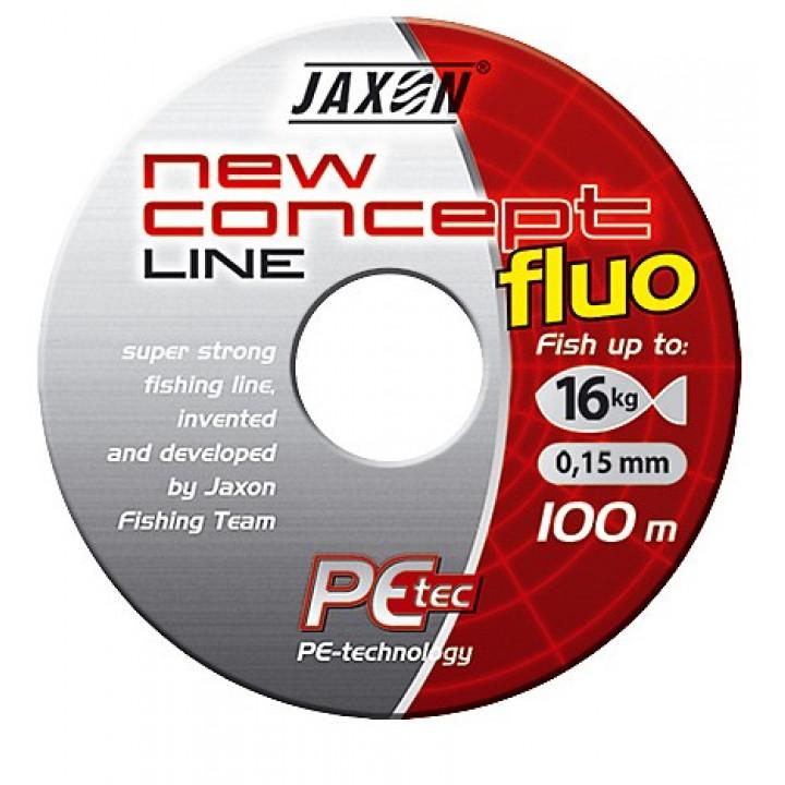 Плетёнка Jaxon New Concept Line Yellow (Fluo) 100m, 250m